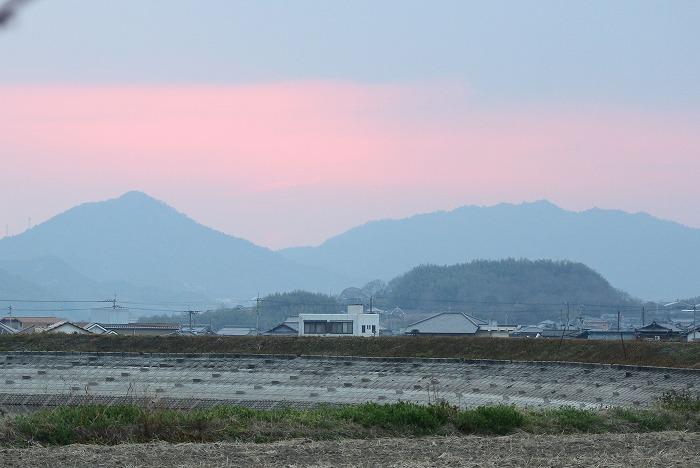 夕陽沈んでしまって 29.3.2