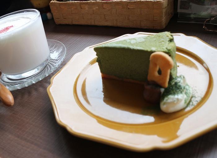 抹茶チーズケーキ H29.4.7