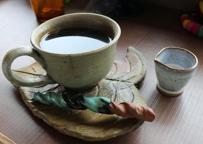 手づくりカップでコーヒー 29.4.7