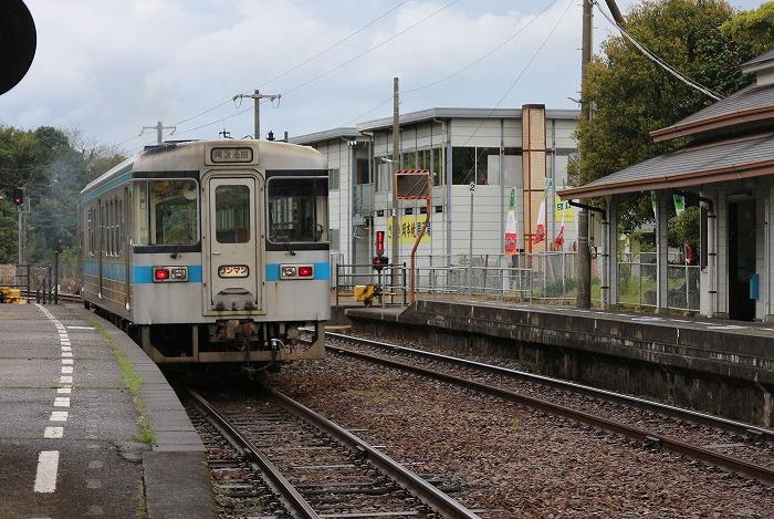坪尻駅に向かって出発 29.4.17