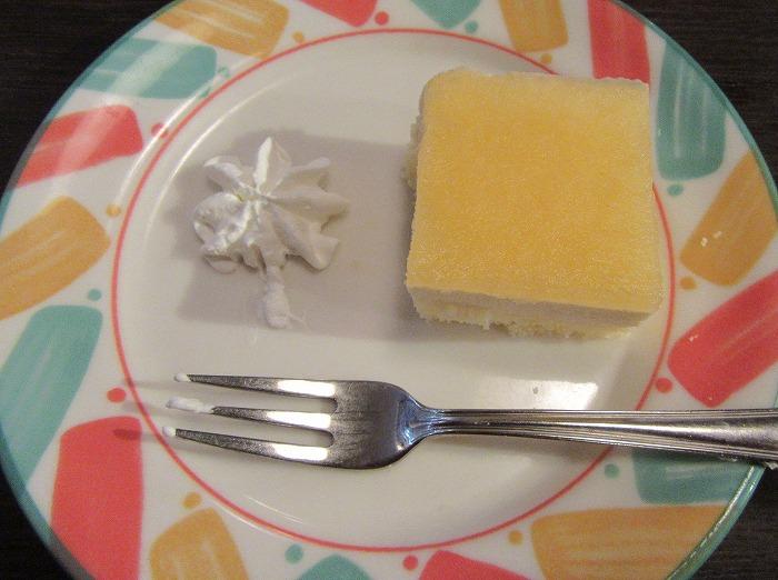 さっぱり味のケーキやった 29.4.23