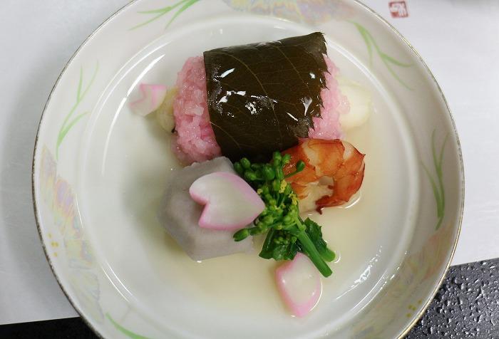 鯛の何とか 桜餅みたいや 29.4.8