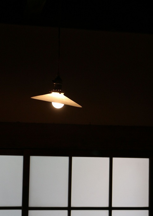 合田邸入り口灯り 29.4.12