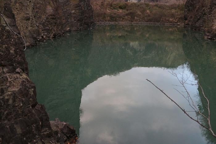 爺神山の池 29.2.28