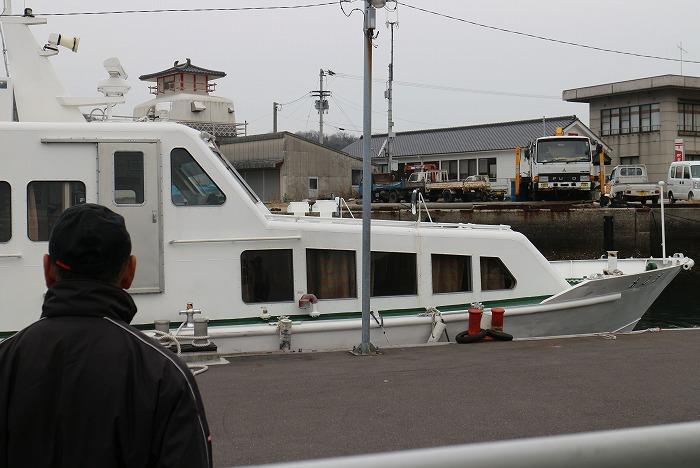 粟島から須田港へ3月6日朝 29.3.6