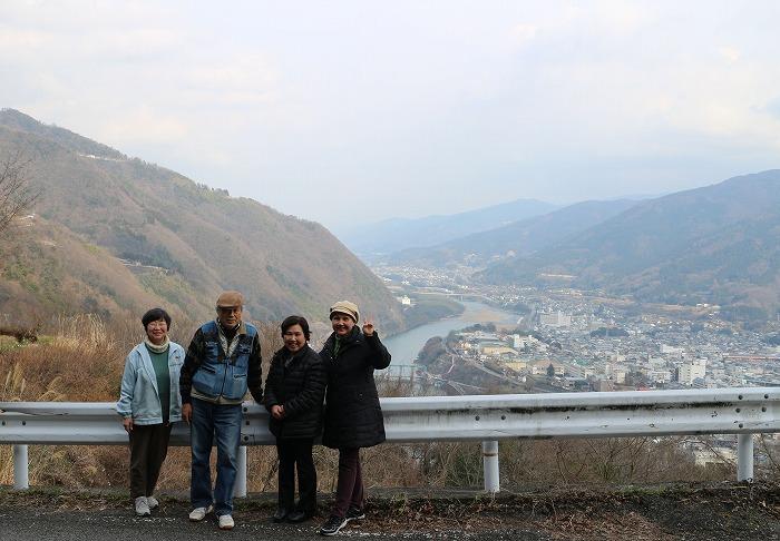 記念写真 池田町 吉野川 29.3.6