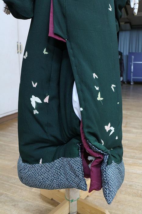 大井川 着物裾きれいに 29.3.10