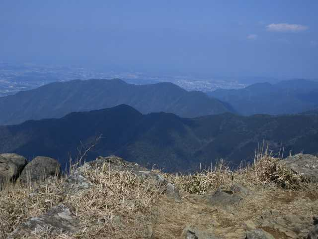 IMG9415JPG雲取山と金剛山