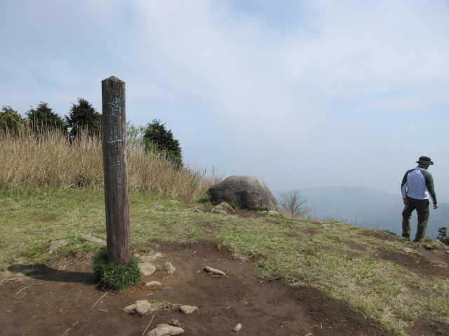 IMG0092JPG霧の貫山山頂です