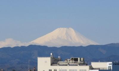 横田基地からの富士山