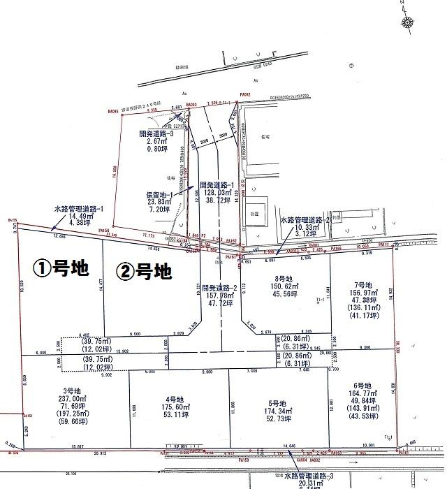 M-0134川合新田 計画図