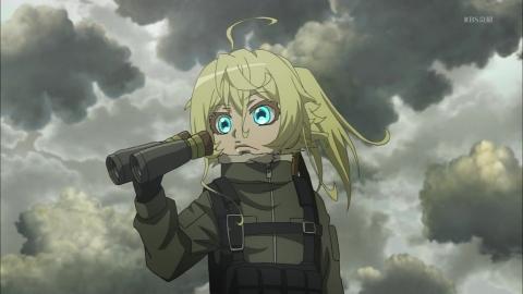 幼女戦記 第8話 火の試練 アニメ実況 感想 画像