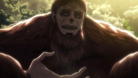 進撃の巨人 Season2 第26話 獣の巨人 アニメ実況 感想 画像