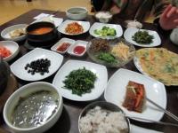 大邱 菩提樹 野菜定食