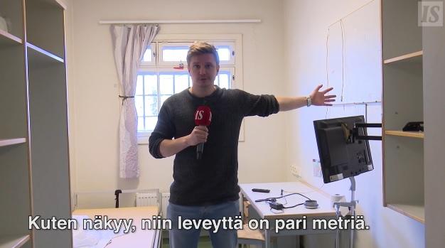 フィンランド リーヒマキ刑務所 部屋