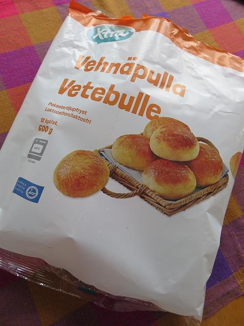 フィンランド 菓子パン 冷凍プッラ