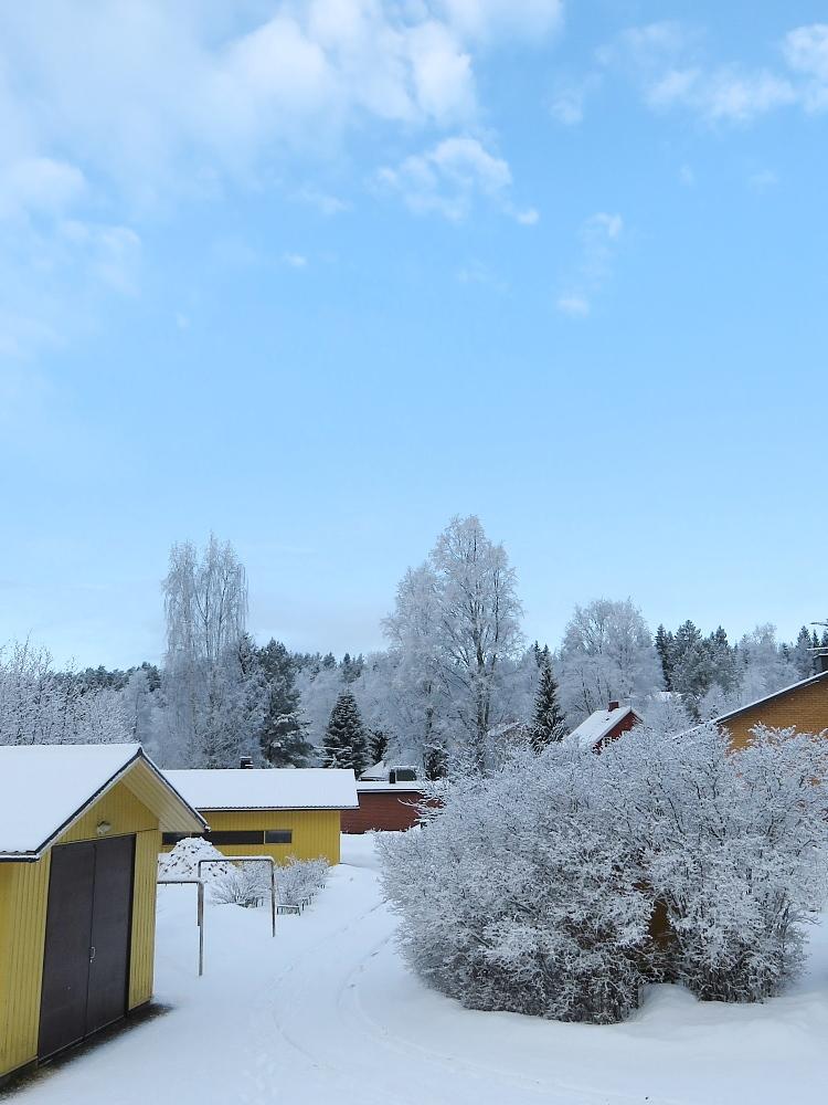 フィンランド 3月 雪 銀世界 Lumi