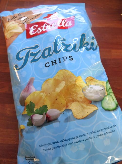 Tzatziki タジキ ポテトチップス フィンランド