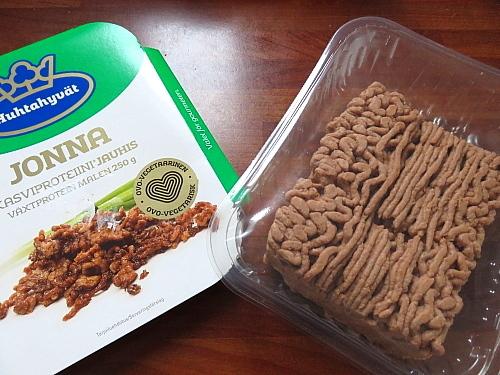 フィンランド フード 野菜プロテイン ひき肉風