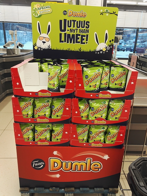 Fazer Dumle Spring edition Lime フィンランド スプリングエディション