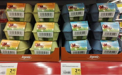 フィンランド スーパー イースターエッグチョコ 卵ケース入り