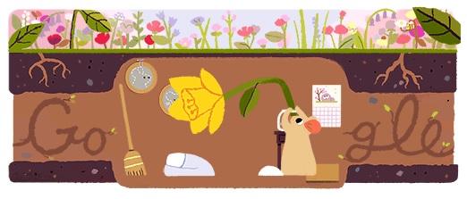 Google 春分の日