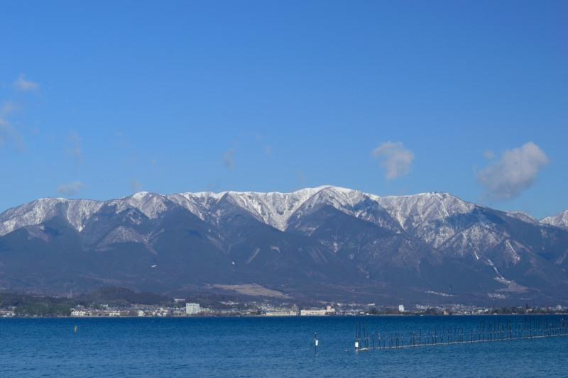 琵琶湖と比良山DSC_8342