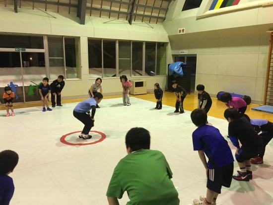 レスリング練習 023