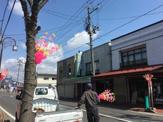 商店街花飾り 003