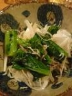 菜の花じゃこのせオニスラ
