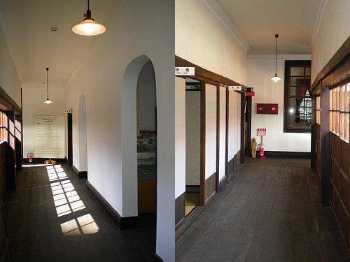 旧南会津郡役所・回廊2