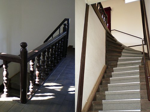 旧南会津郡役所・階段1