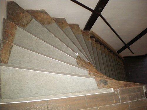 旧南会津郡役所・階段2
