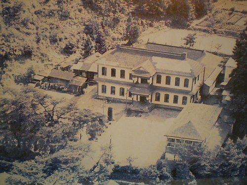 旧南会津郡役所・古写真1