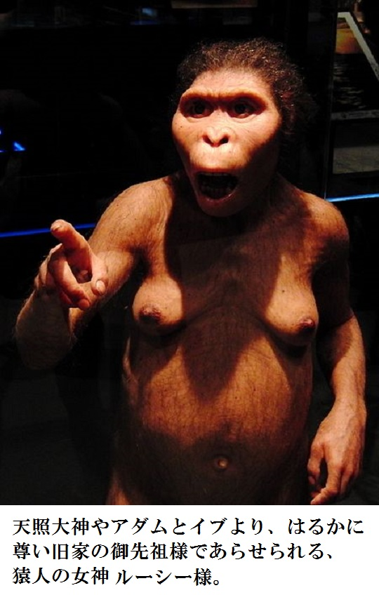 450px-Lucy_Australopithecus_Restoration_model[1]