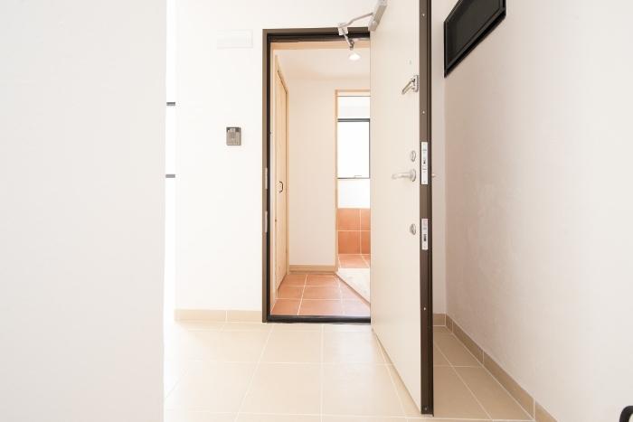 無添加住宅館Lene203玄関