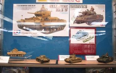 タミヤ1/35TAMIYAバレンタイン歩兵戦車 Mk.II・IVThe Tank, Infantry, Mk III, Valentine マチルダII Infantry Tank Mark II Matilda Mk.II ソ連軍仕様レンドリース法 クルセーダー巡航戦車 Mk.VI Crusader静岡AFVの会2017ホテルセンチュリーサウスポット静岡ホビースクエア