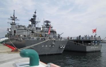 護衛艦いかづち&はたかぜ 清水港 日の出埠頭 海上自衛隊(海自Japan Maritime Self-Defense Force JMSDF)はたかぜ( Hatakaze DDG-171)帝国海軍神風型駆逐艦「旗風」いかづち(Ikazuchi DD-107)吹雪型駆逐艦「雷」テロ特措法S-PULSE清水みなと祭り2017エスパルスドリームプラザMOVIX清水