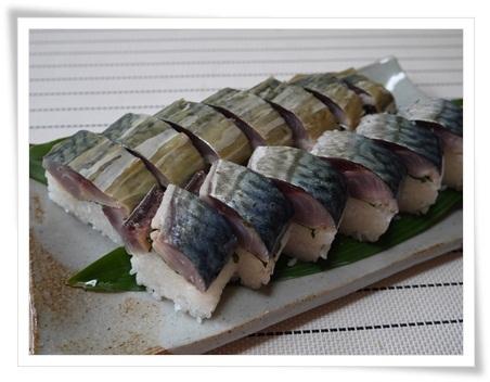 P1110600鯖寿司