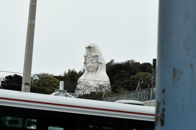 湘南モノレール大船観音