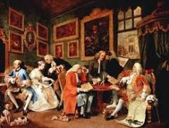 16 ホガース 当世風結婚 Ⅰ結婚の契約