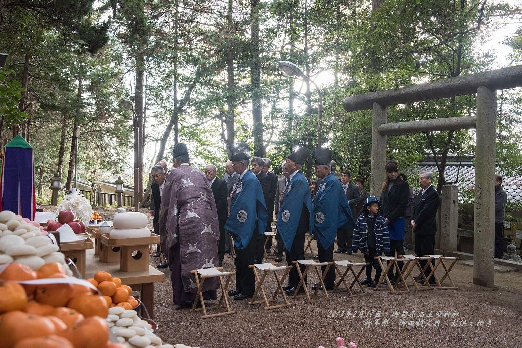 御前原石立命神社 祈年祭 御田植式典 (21)