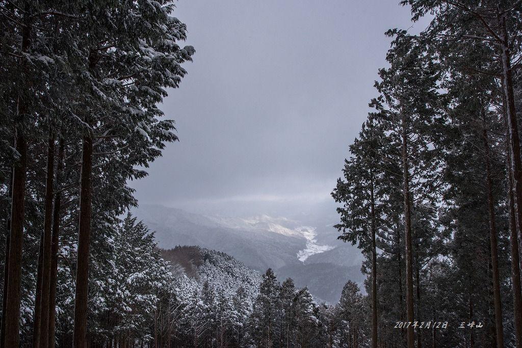 20170212 三峰山 雪山登山 (1)