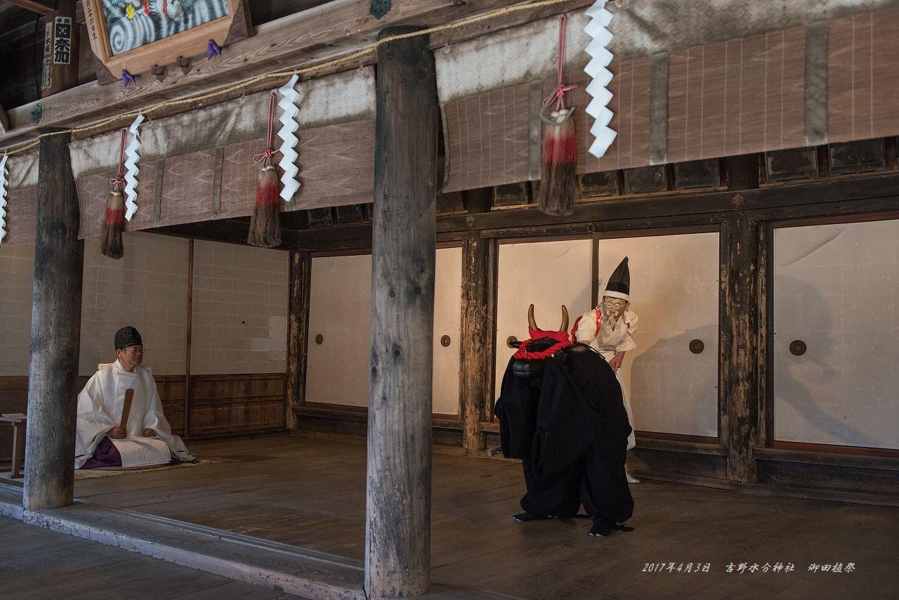 201704 吉野水分神社 御田植祭 (3)