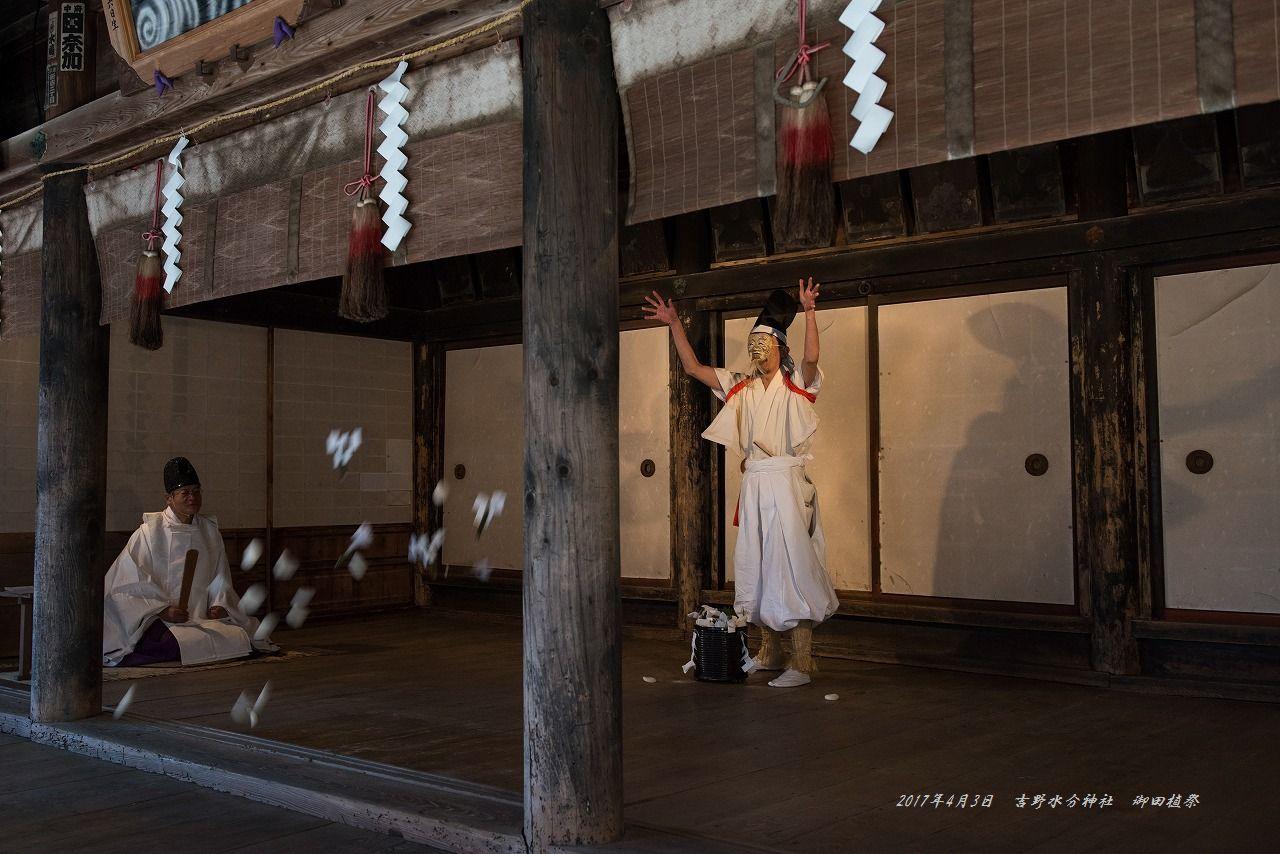201704 吉野水分神社 御田植祭 (5)