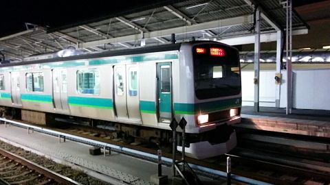 常磐線通勤電車