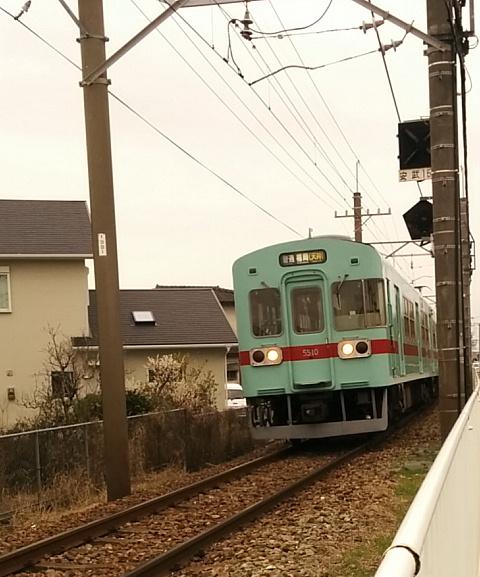 梅 西鉄電車