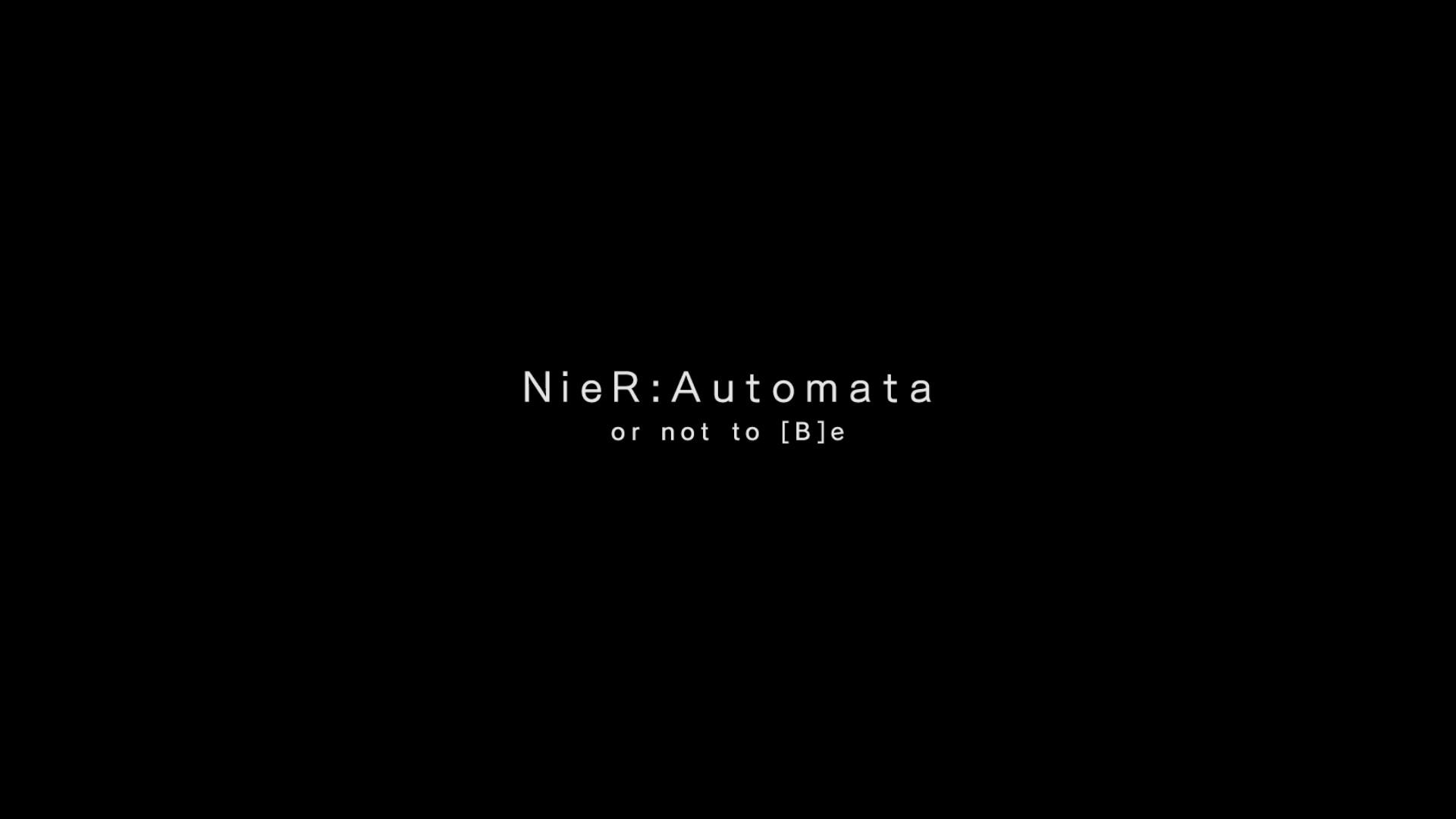 [PCゲーム]NieR:Automata3