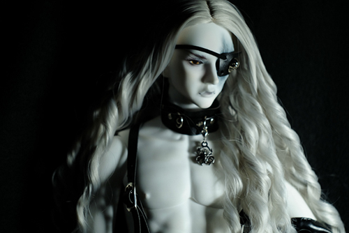 Ring doll、杉苔の空さんにメイクして頂いた、ゾンビヘッド・Kaneをお迎えしました