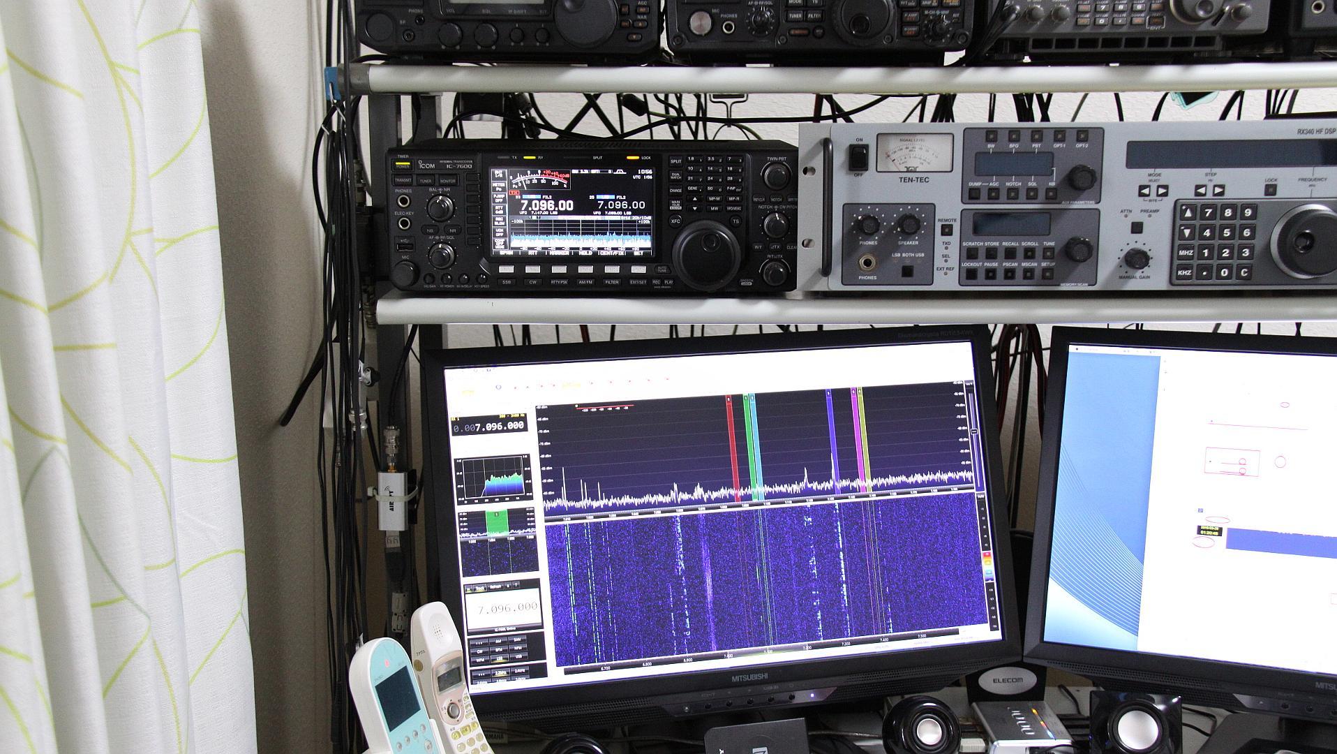 SDR Console V3 / IC-7600 連動 - SDR
